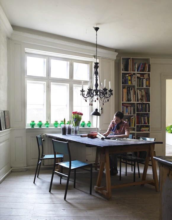dining room home office | Do not fear what others think and decorate for yourself