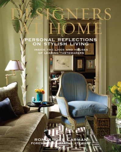 "Ronda Rice Carmen's New Book ""Designers At Home"""