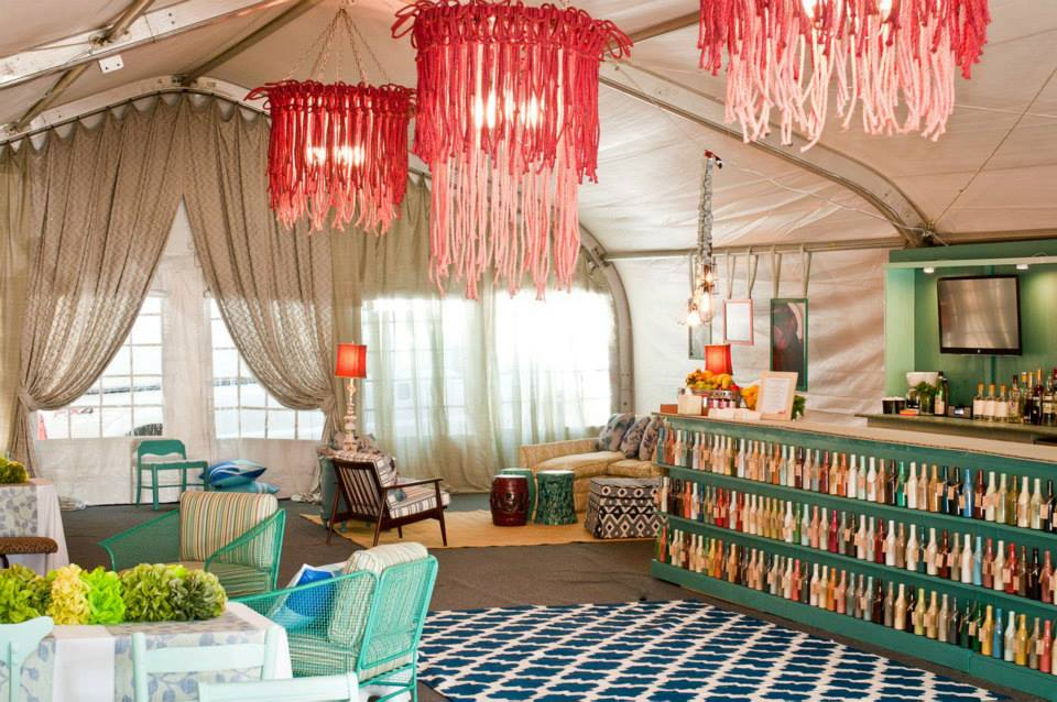 Decorating Inspiration from the Brimfiled VIP Tent