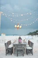 beach side outdoor dining