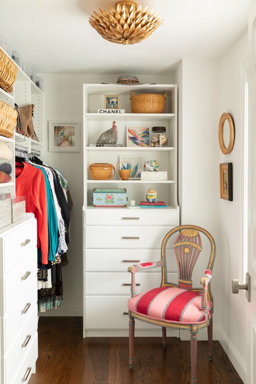 Builtin master closet