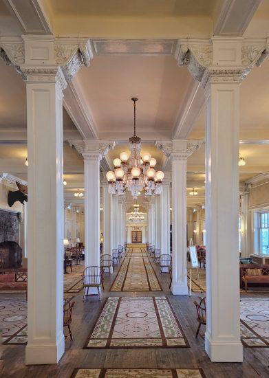 Mount Washington hotel lobby