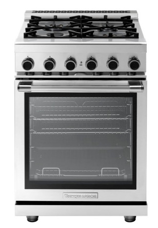 "24"" gas range from Tecnogas Superiore"