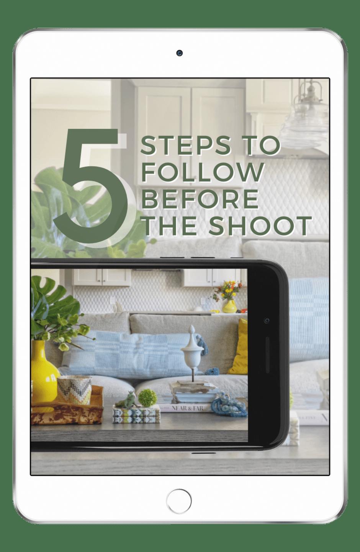 5 steps update homepage