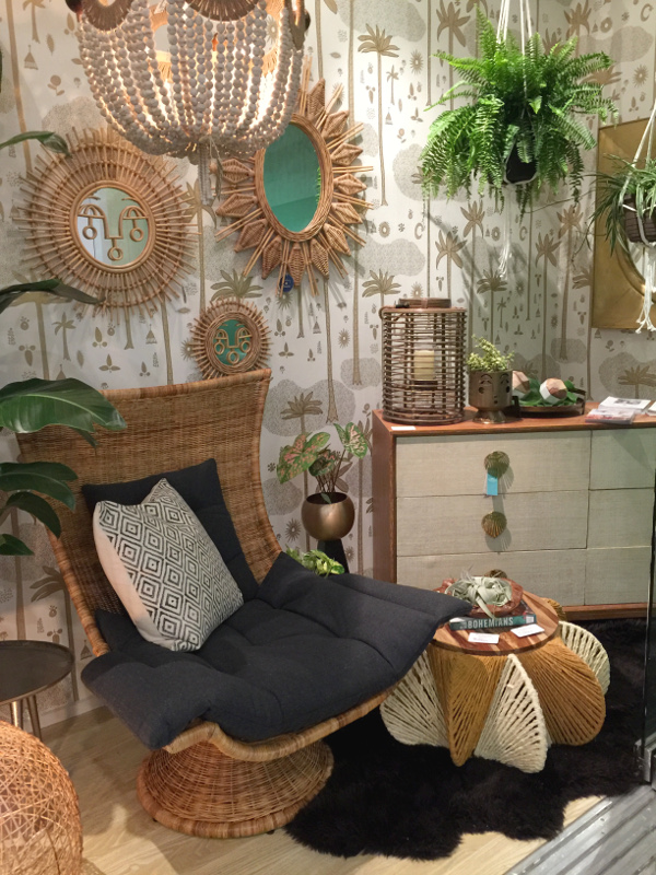 wicker and rattan trending at high point market