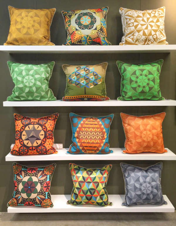 1970's inspired pillows
