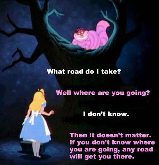 Why I feel like Alice in Wonderland