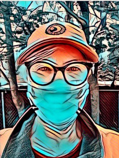 selfie using Painnt app