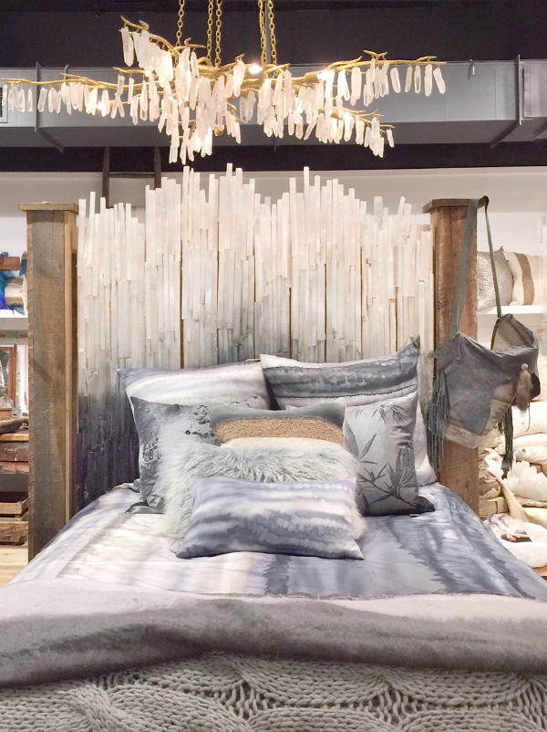 Aviva Stanoff quartz crystal chandelier
