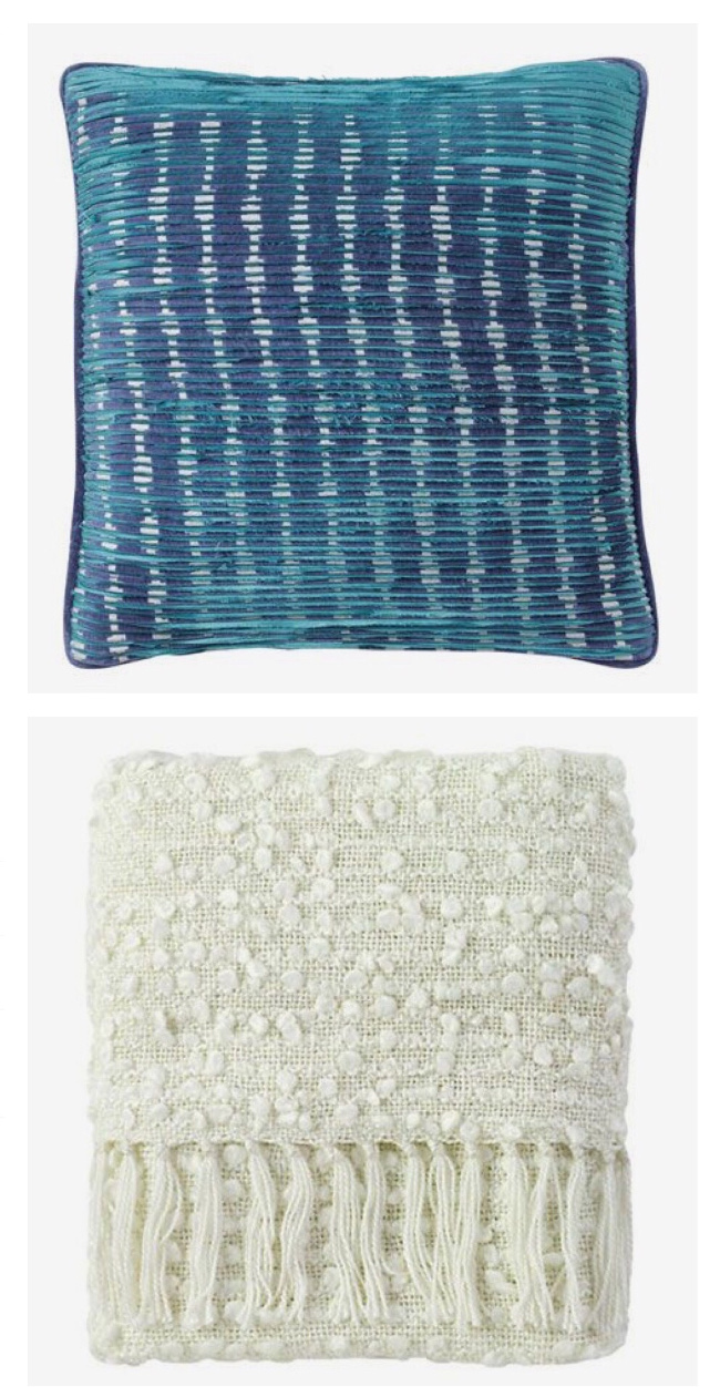 Bellacore Compnay C pillow and throw