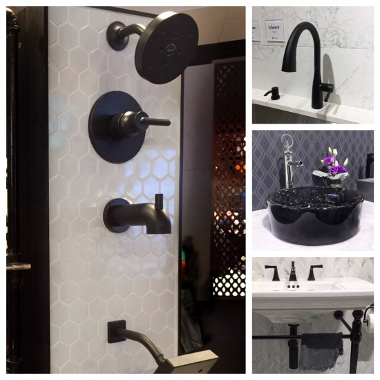 Black finishes at KBIS: Linda Holt Photo