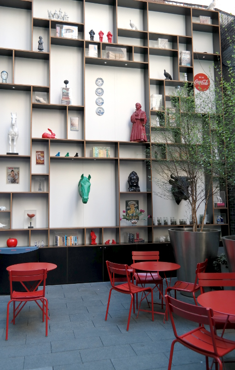 CitizenM NYC outside Patio