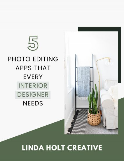five photo editing apps that every interior designer needs