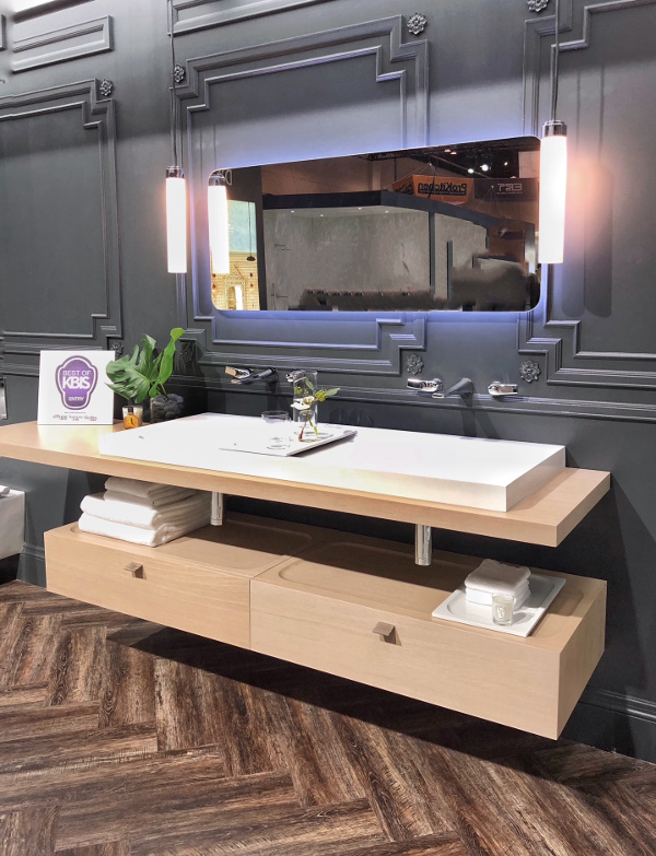contemporary cabinetry from DXV