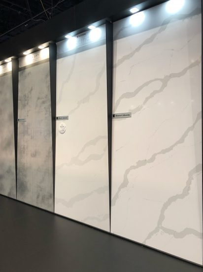 quartz counter top color trends from KBIS 2018