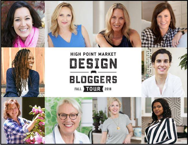 2018 Fall High Point Market design bloggers