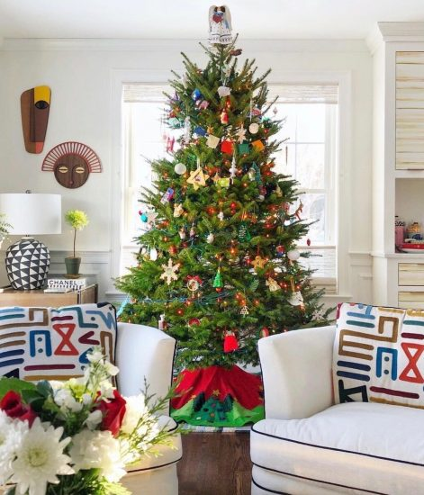 "House Beautiful ""memory"" Christmas tree"""