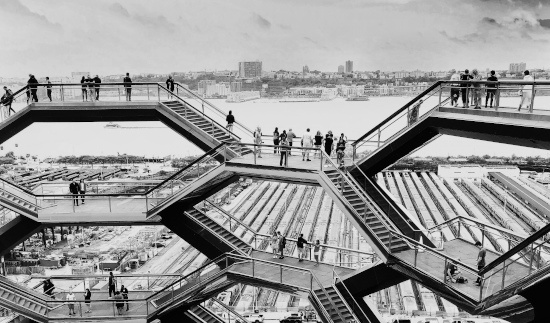 View from the vessel Hudson Yards