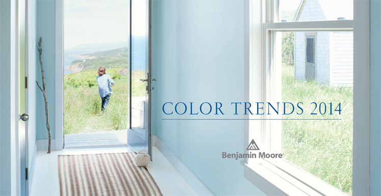 Benjamin Moore Colors for 2014