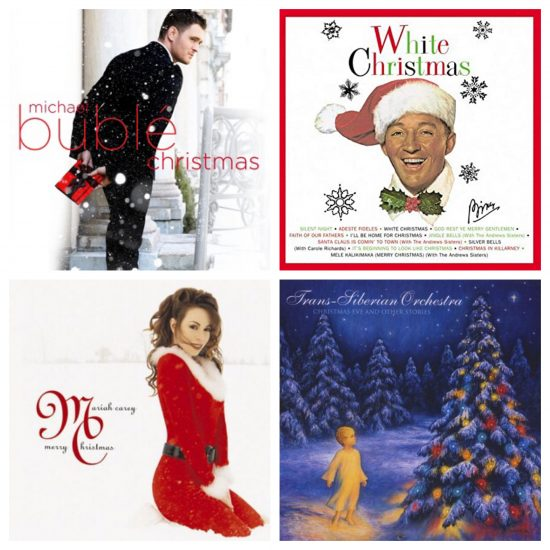 collection of Christmas CD's