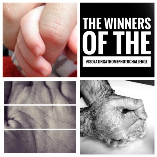 Winning photos of hands