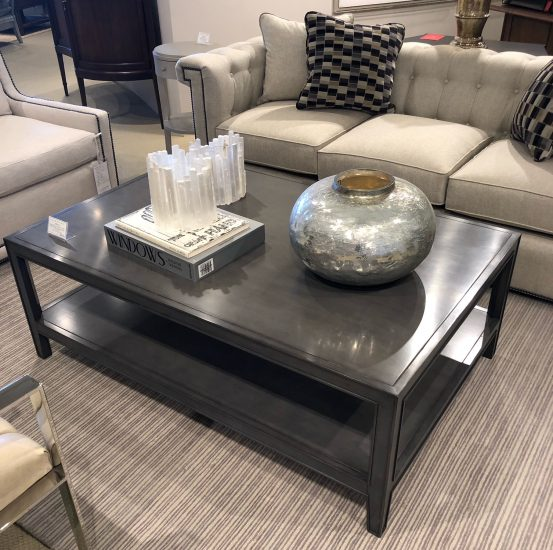 Century Furniture gray coffee table