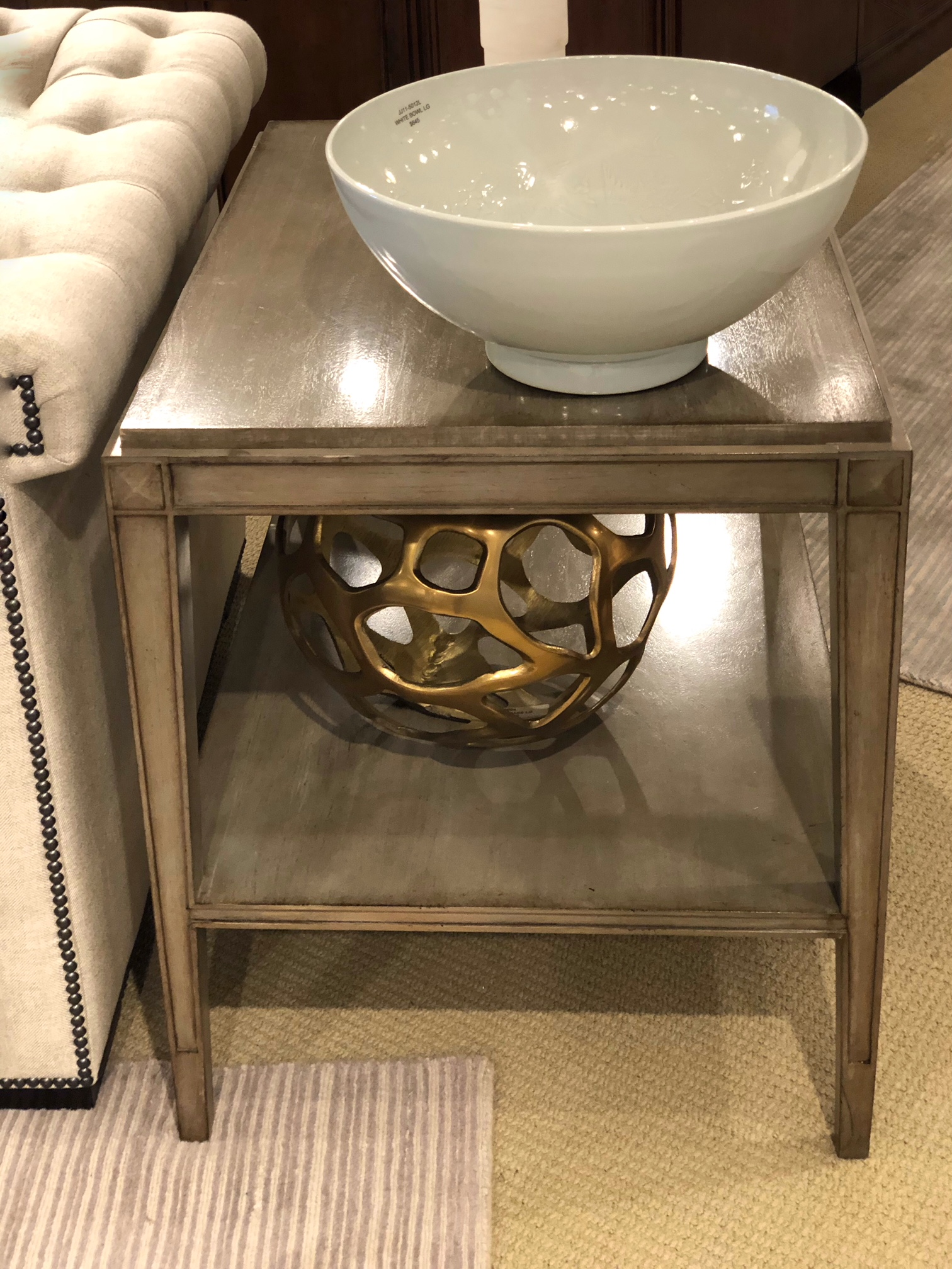 Century Furniture side table