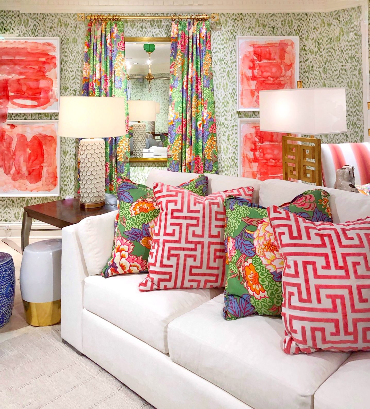 bright patterns design trend