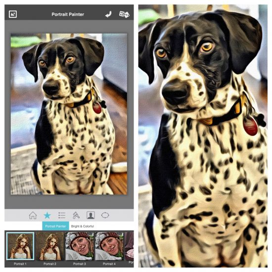 Portrait Painter App