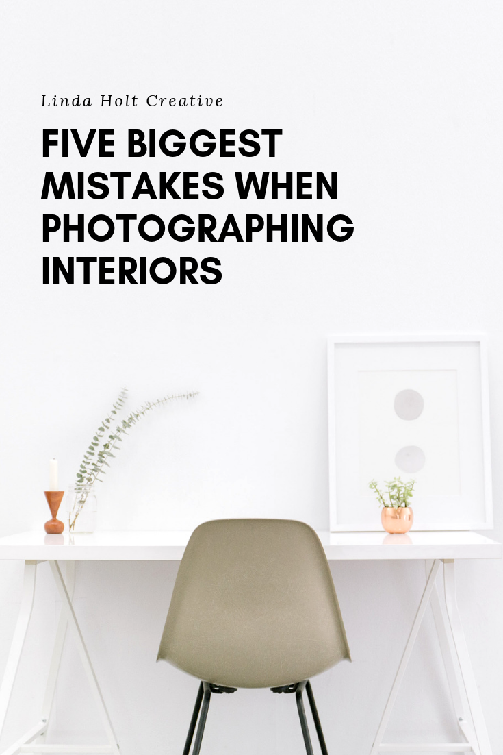 five mistakes when photographing interiors