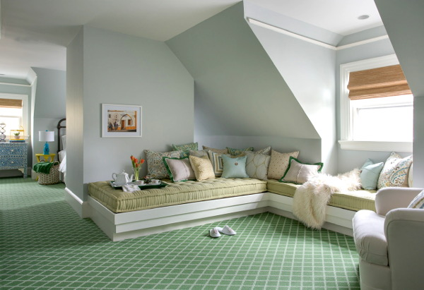 Painting Tip Wallpapering And Painting Angled Walls And Sloped Ceilings Linda Holt Creative