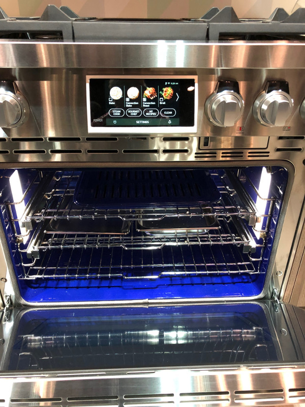 LED lighting in kitchen range