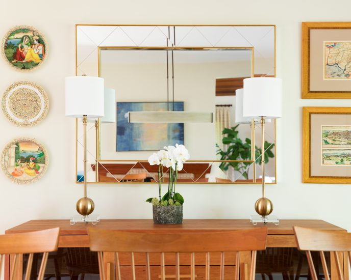 Tips for hanging a mirror
