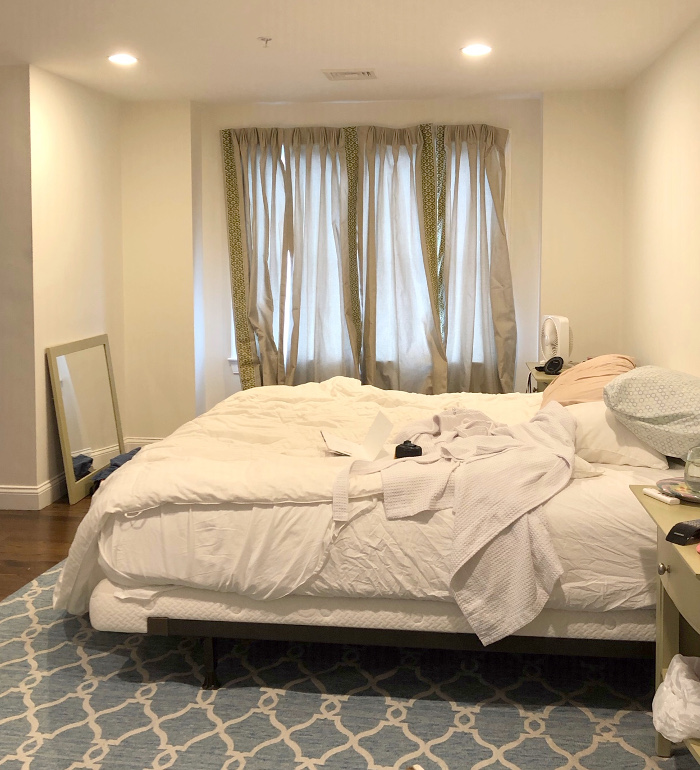Master bedroom before makeover