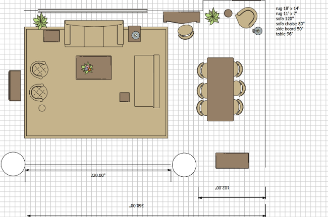 ORC floor plan for pied a terre