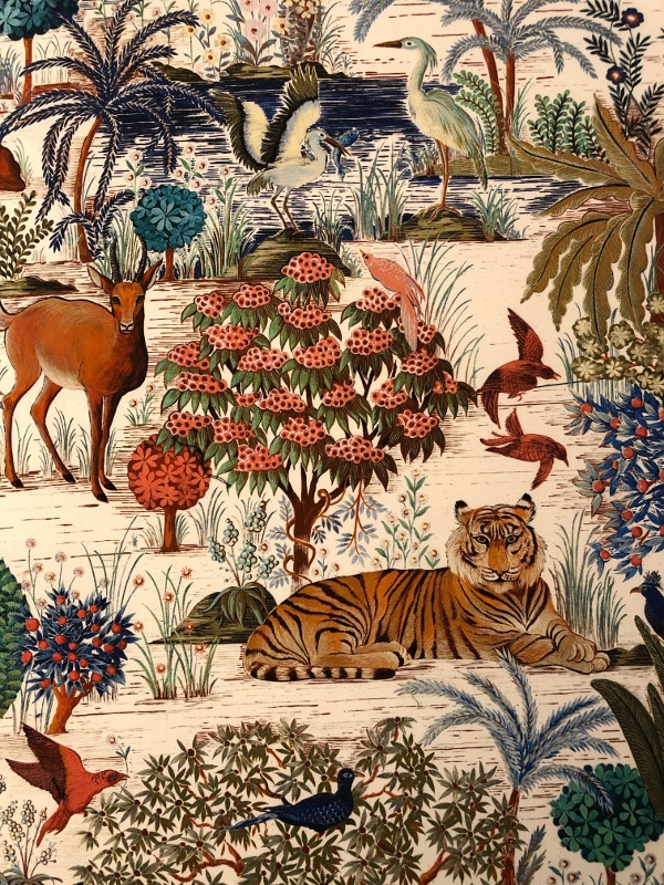 Pierre Frey animal print fabric