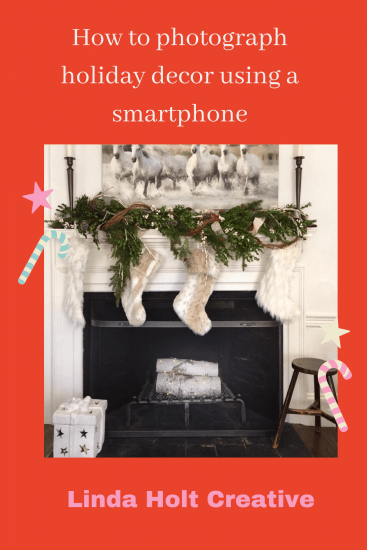 How to photograph holiday decor using a smartphone
