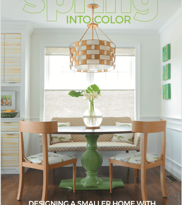 Seasonal Living Magazine Spring decorating, color, and recipe ideas