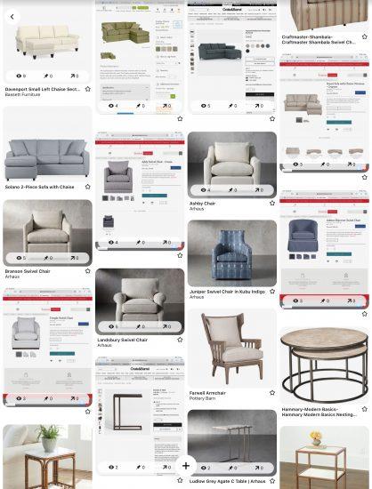 Interior design VIP day pinterest page