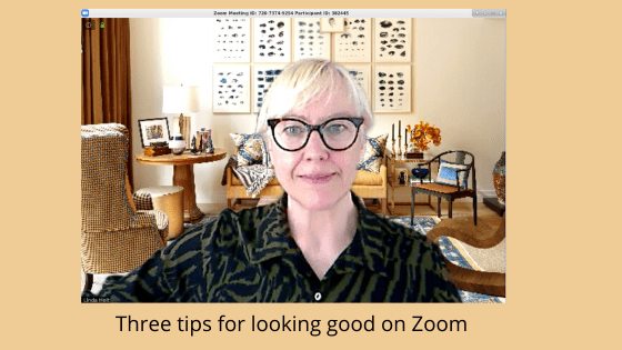 Three tips for looking good on Zoom