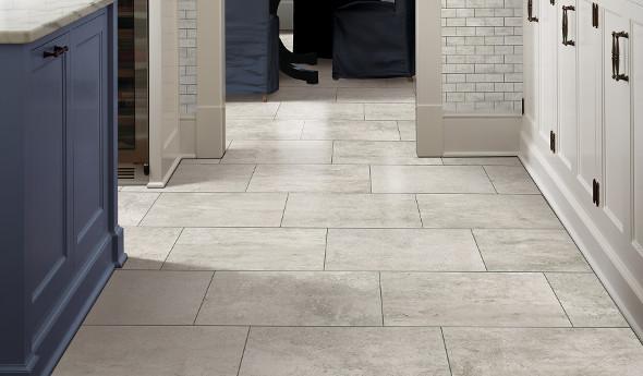 Rockcrest Fossil Gray Tiles Mohawk Flooring