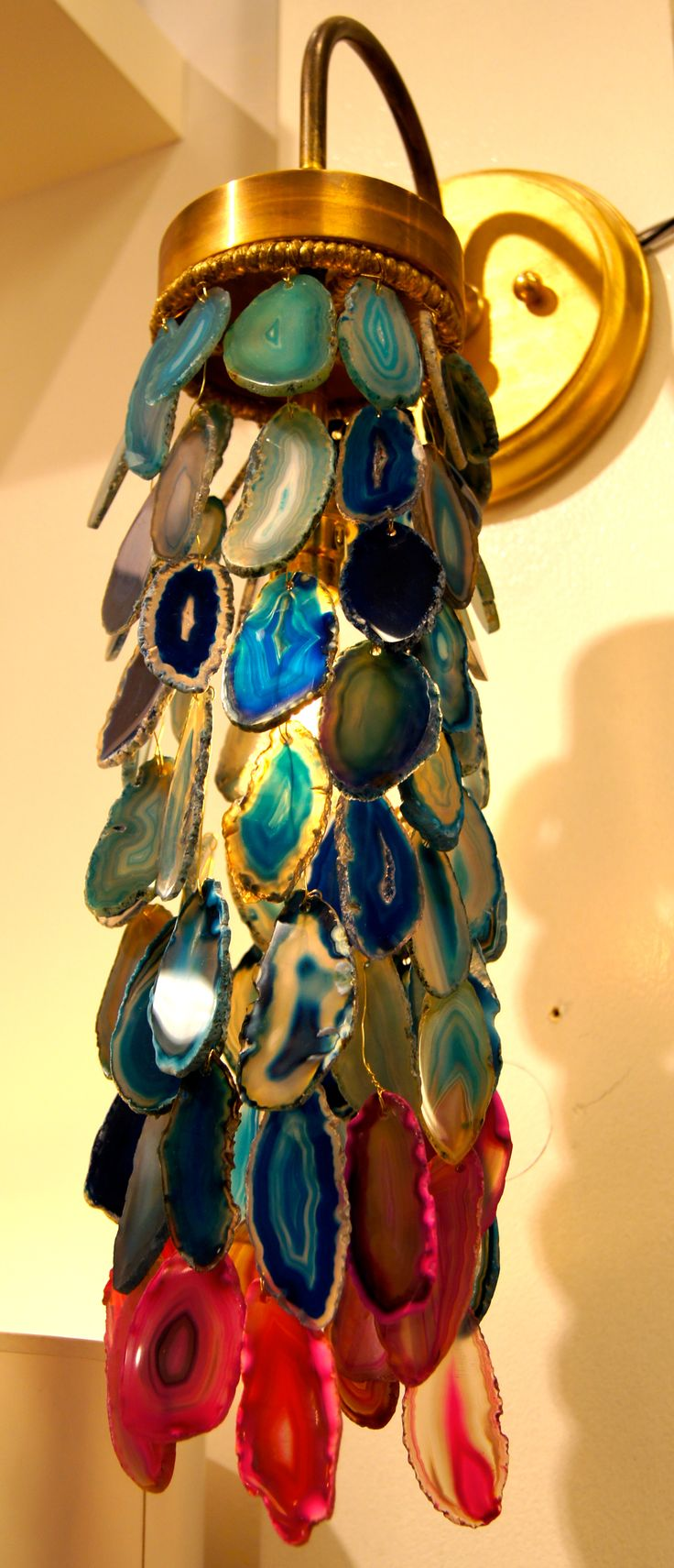 Agate chandelier High Point 2013