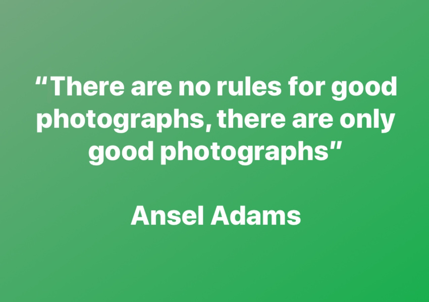 ansel adams quote