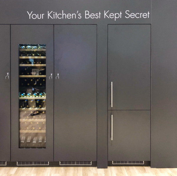 concealed appliances at KBIS