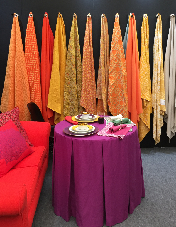 Four fabric trends from the London design shows