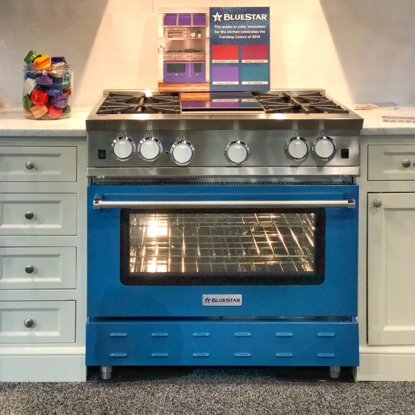 blue range color trends from 2018 kitchen and bath show
