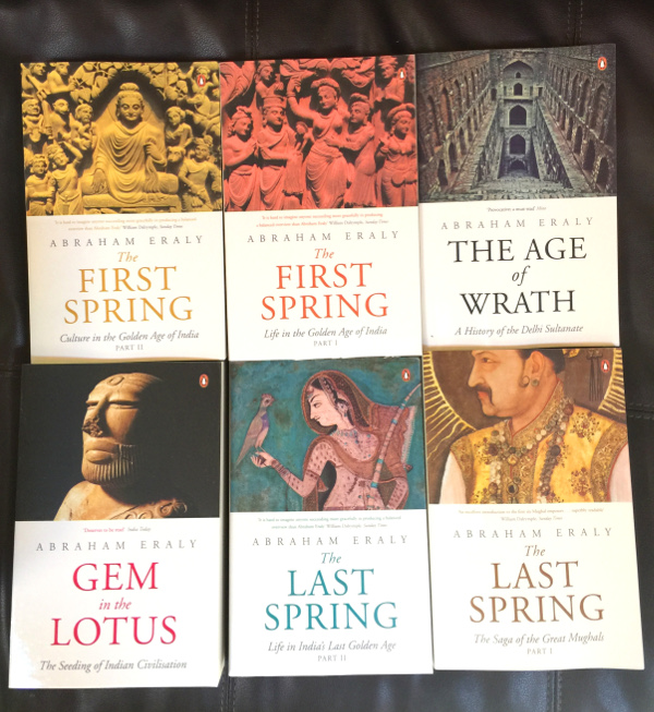 Abraham Eraly series of Indian books