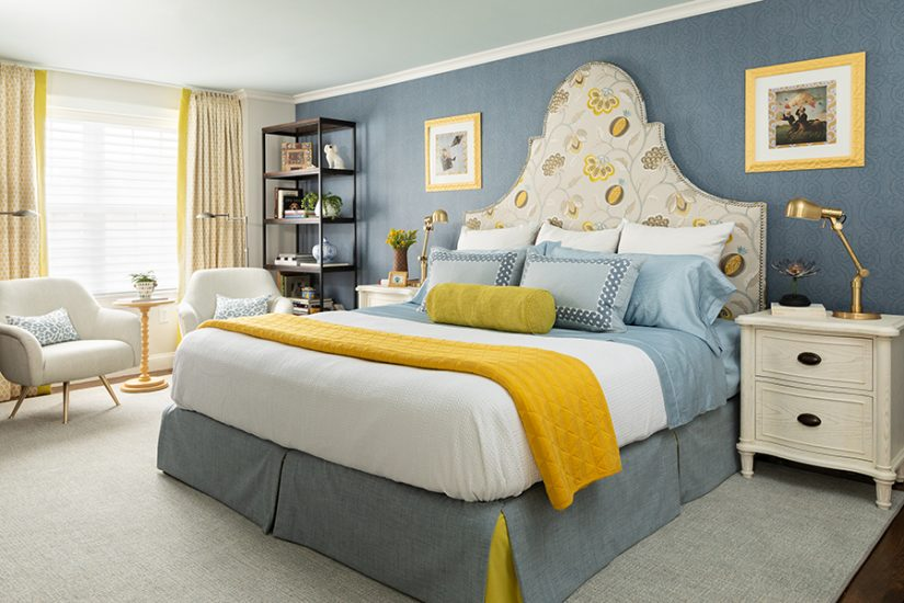 boutique hotel inspired master bedroom retreat
