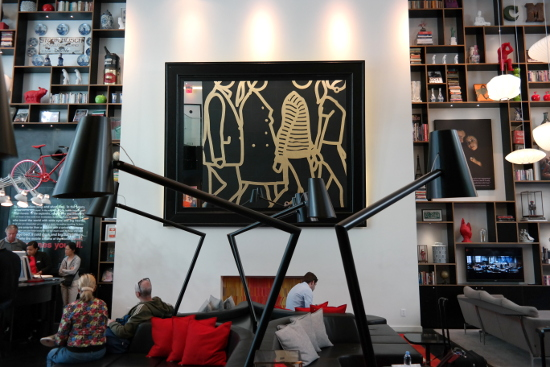 CitizenM NYC Lobby