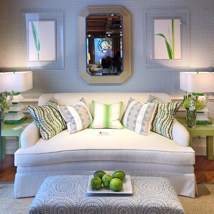 white crypton sofa